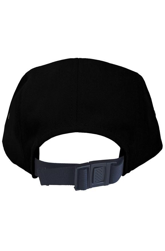 Outsidevibes Adventure 5 Panel Black Cap