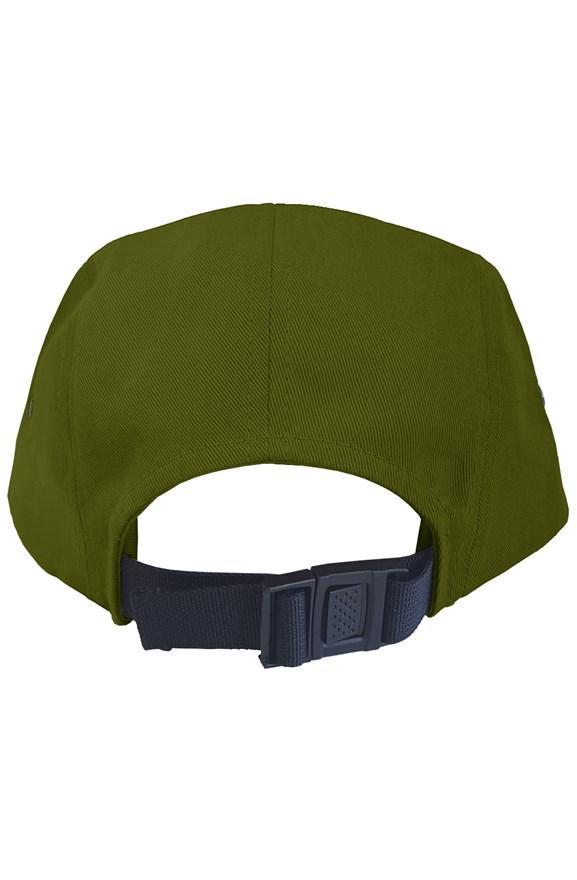Outsidevibes Travel 5 Panel Back Clip Cap Olive