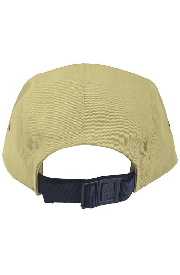 Outsidevibes Travel 5 Panel Back Clip Cap Khaki