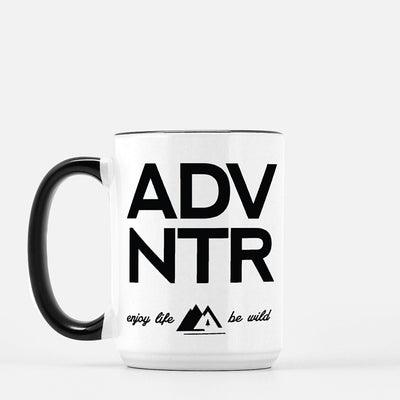 ADVNTR Ceramic Coffee Mug