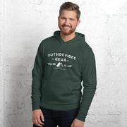 Outsidevibes Gear Heather Forest Men's Fleece Hoodie
