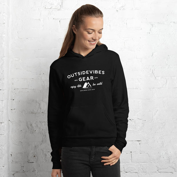 Outsidevibes Adventure Brand - Woman's Fleece Hoodie