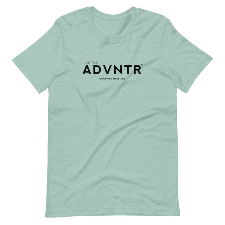 Outsidevibes Adventure is Life - Men's Pastel T-Shirt