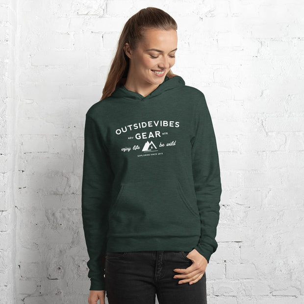 Outsidevibes Gear Woman's Fleece Hoodie