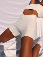Bamboo Shorts with V-Front