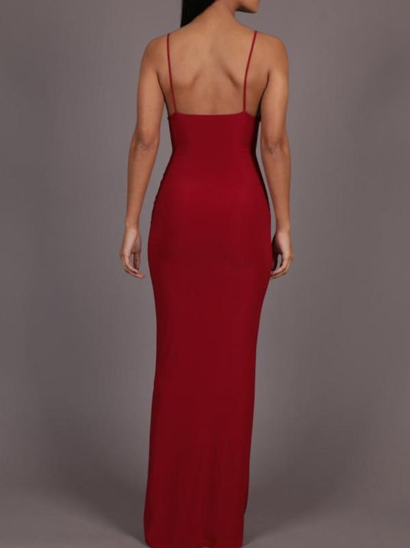 Heartbreaker Maxi Dress With Split, Maxi Dress, AYM - Boom Boom the Label title=