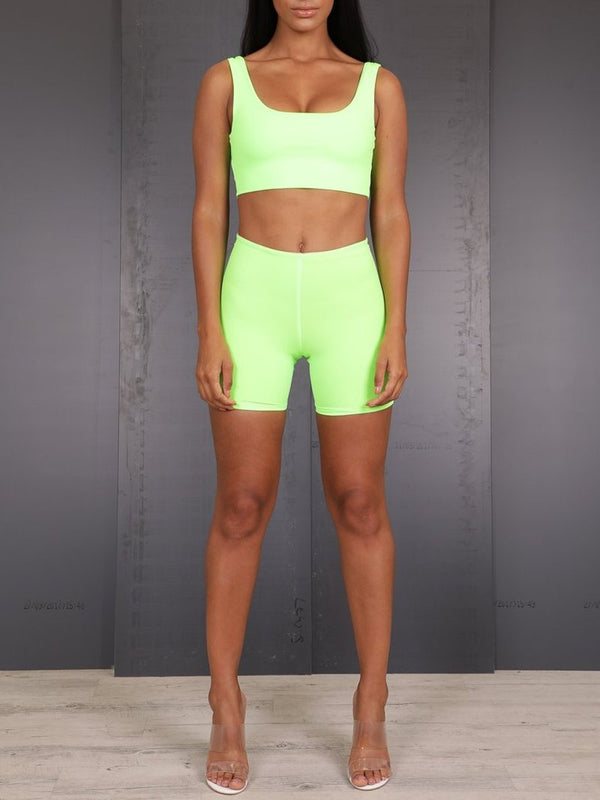Neon Crop Top, Crop Top, AYM - Boom Boom the Label