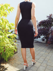 Bond Dress in Midi Length