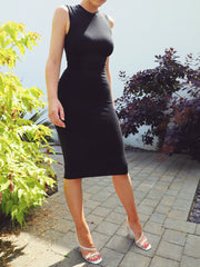 Bond Dress in Midi Length - AYM Studio