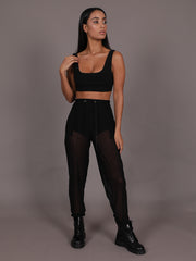 Otto Sheer Mesh Jogging Trousers, Trousers, AYM - Boom Boom the Label