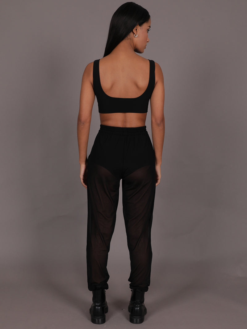 Otto Sheer Mesh Joggers, Trousers, AYM - Boom Boom the Label