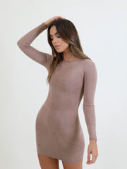 Goals Suedette Mini Dress, Mini Dress, AYM - Boom Boom the Label