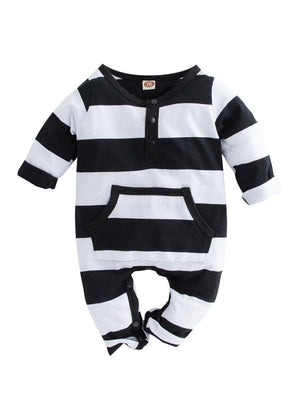 Infant Stripe Jumpsuit