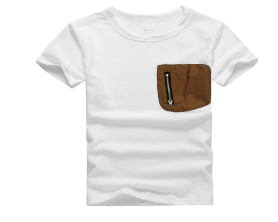 Boys Patch Pocket Tee