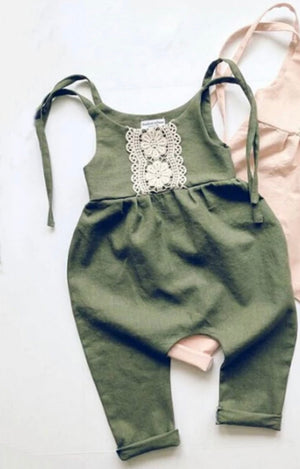 Sweet Green Romper
