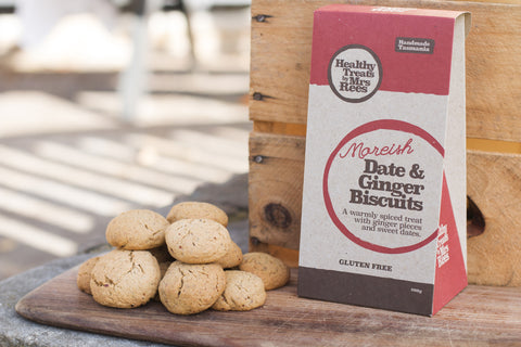 Date and Ginger Biscuits