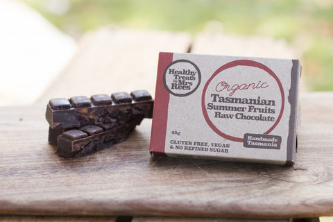 Raw Chocolate - Organic Tasmania Summer Fruits