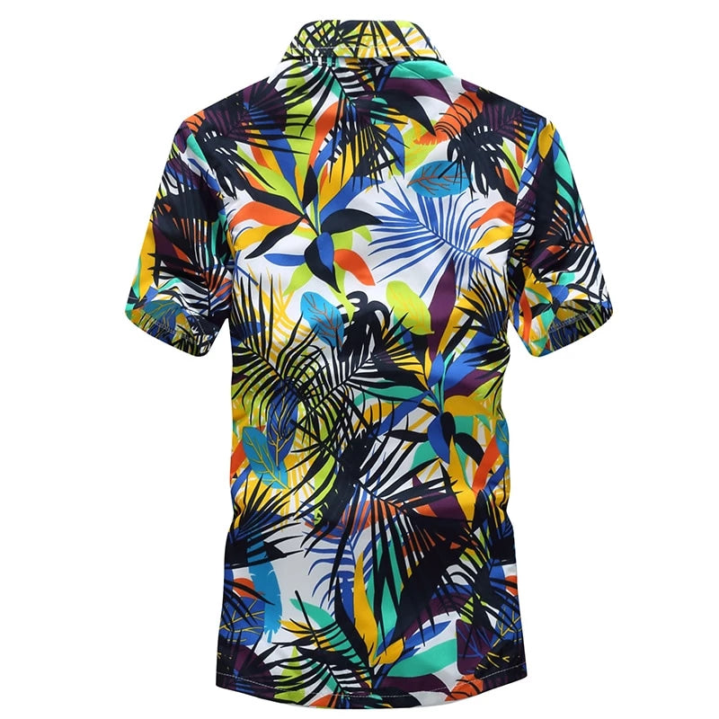 Hawaiian Beach Shirt (10 colors)