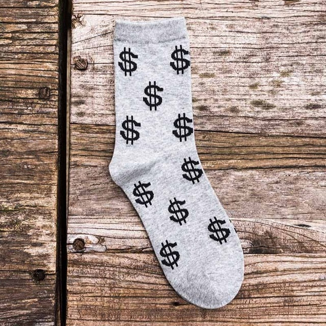 Fashion Dollar Socks (5 colors)