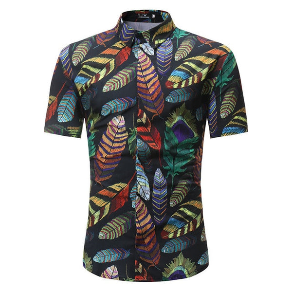 Summer Palm Beach Shirt (20 colors)