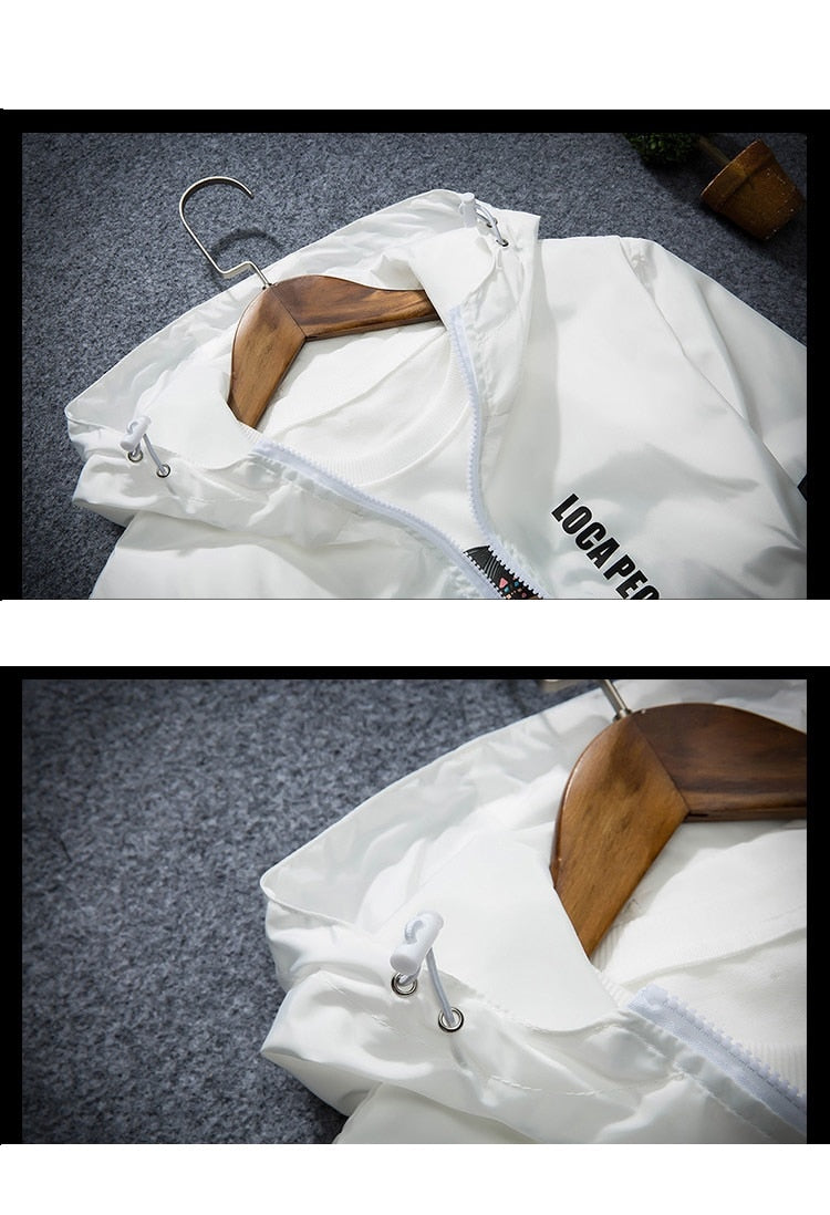 Thin Windbreaker (4 colors)