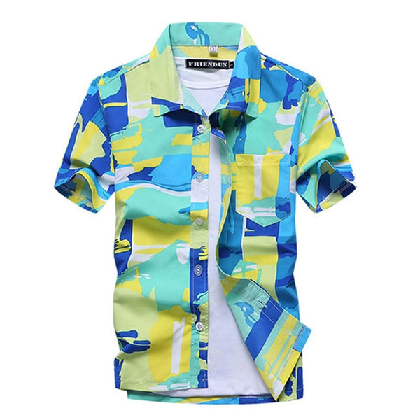 Summer Beach Hawaiian Shirt (13 colors)