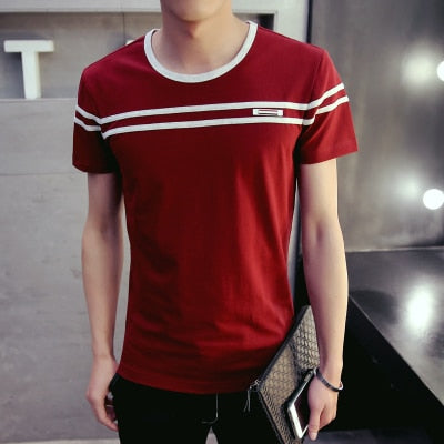Stripe Fashion T-Shirt (3 colors)