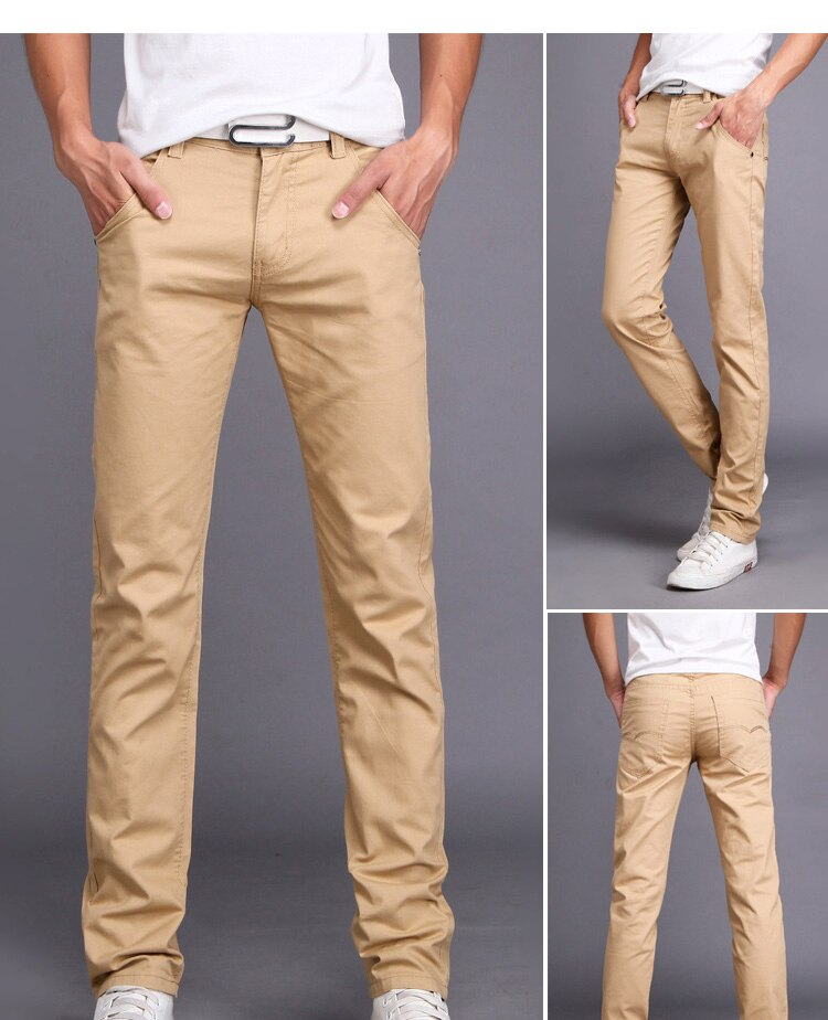 Casual Slim Fit Pants (7 colors)