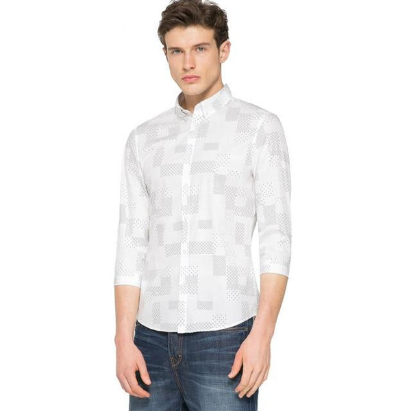 Fashion Three quarter sleeves Shirt