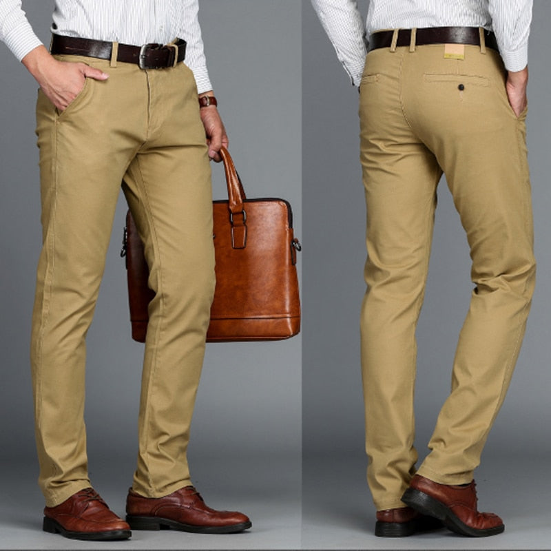 Straight Casual Pants (4 colors)