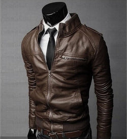 Leather Classic Jacket (3 colors)