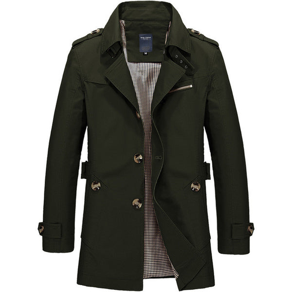 Casual Fit Overcoat (5 colors)