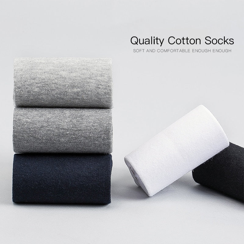 10 Pairs / Lot Cotton Socks (13 colors)