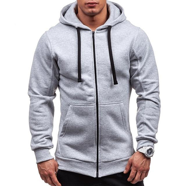Pocket Zipper Hoodie (5 colors)