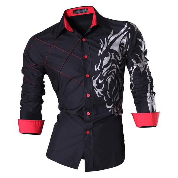 Features Slim Fit Shirt (5 colors)