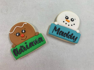 Personalized Gingy - 12/16-12/18 pick up