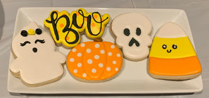 Halloween Cookie class @ Center Court Pizza 10/8/19 6:00-8:00PM
