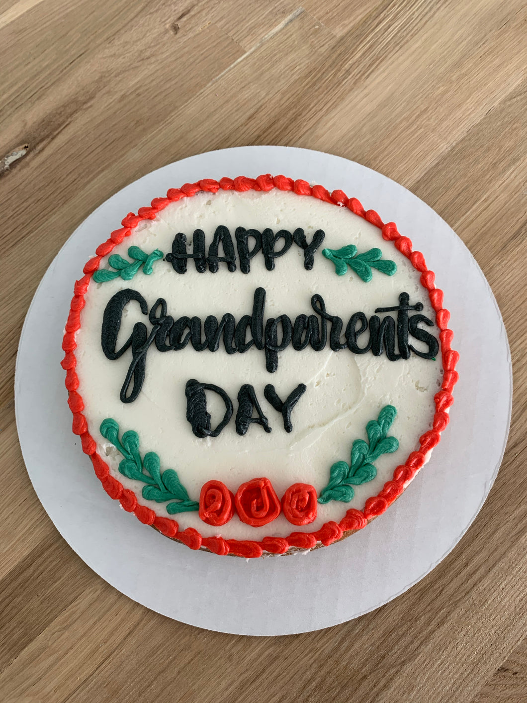 Grandparents day Small Cookie Cake