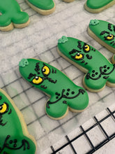 Load image into Gallery viewer, Naughty Grinchy Cookie