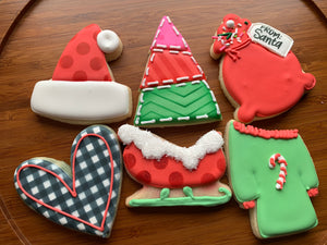 Christmas Cookie Class w/ airbrushing 12/7 5-8pm