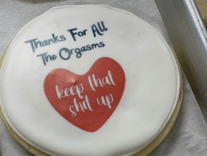 Adult Cookie - Thanks for all the.......