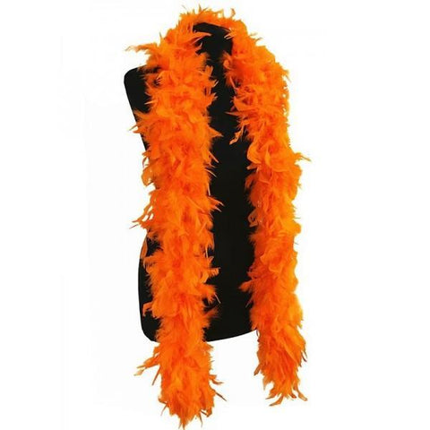 Feather Boa 2m - Orange