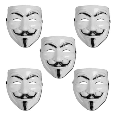 Vinyl Mask - Anonymous Mask - 5 Mask Special