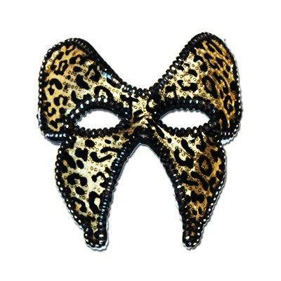 Fancy Gold Butterfly Style Masquerade Mask