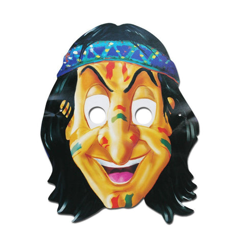 American Indian Cardboard Cutout Mask - Cardboard Cutout Mask - Simply Party Supplies