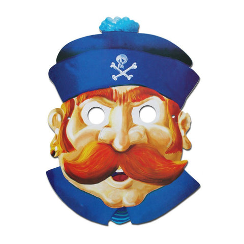 Sailor Cardboard Cutout Mask cardboard cutout, fancy dress, masks, mens, nautical
