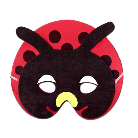 Ladybird Childrens Foam Animal Mask animals, boys, child one size, childrens, fancy dress, foam, girls, half masks, ladybird, masks