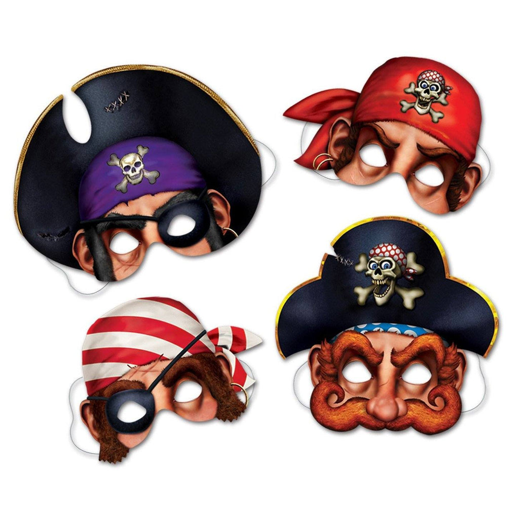 Cardboard Cutout Mask - Pirates Cutout Mask Set