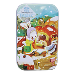 Free Imagination 60pc Puzzle in Travel Tin - Winter at Moles House