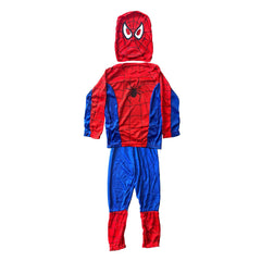 Budget Spider Boy Childs Costume - Fancy Dress Costume - Simply Party Supplies